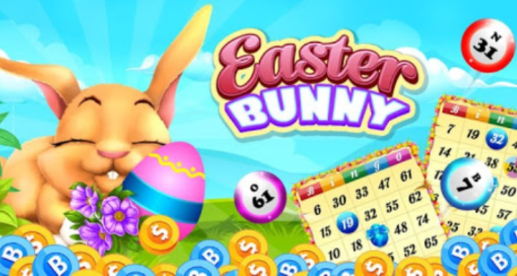 Bingo Bonuses with Easter Bingo Bunny Egg Hunt